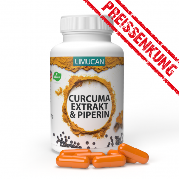 Curcuma Extrakt & Piperin