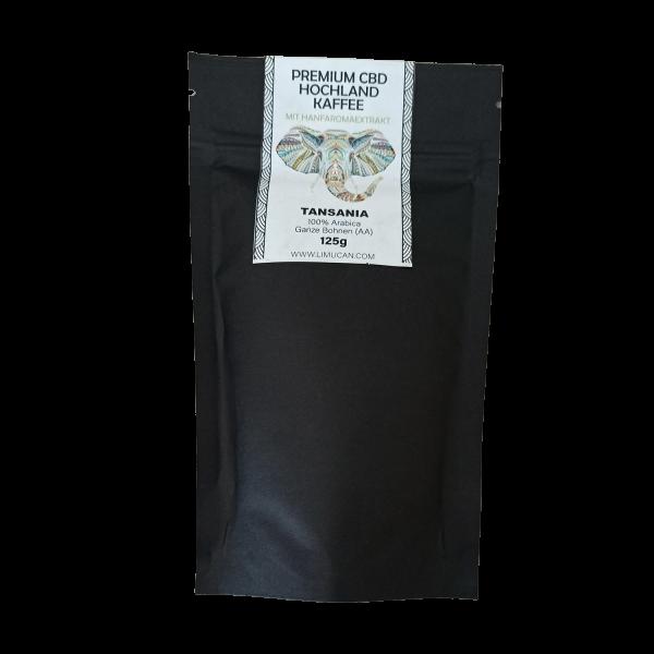 CBD-Kaffee Tansania Tanga 100% Arabica 125g