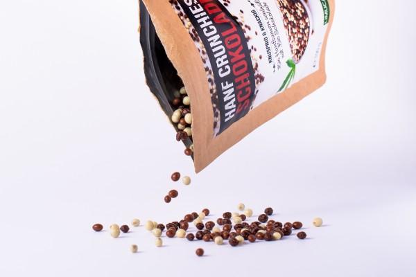 BIO Hanf Crunchies mit Schokolade 100g