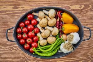 ausgewogene Ernährung gegen oxidativer stress